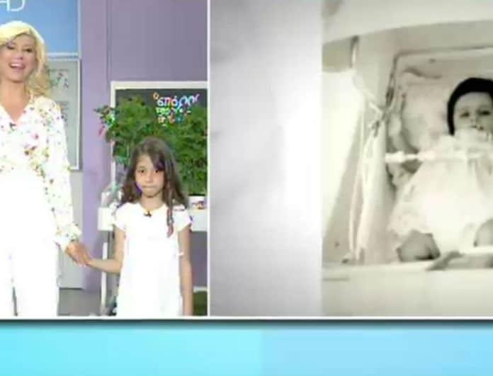 Ζήνα Κουτσελίνη: Γιόρτασε τα γενέθλιά της στο πλατό! Η έκπληξη της κόρης της....