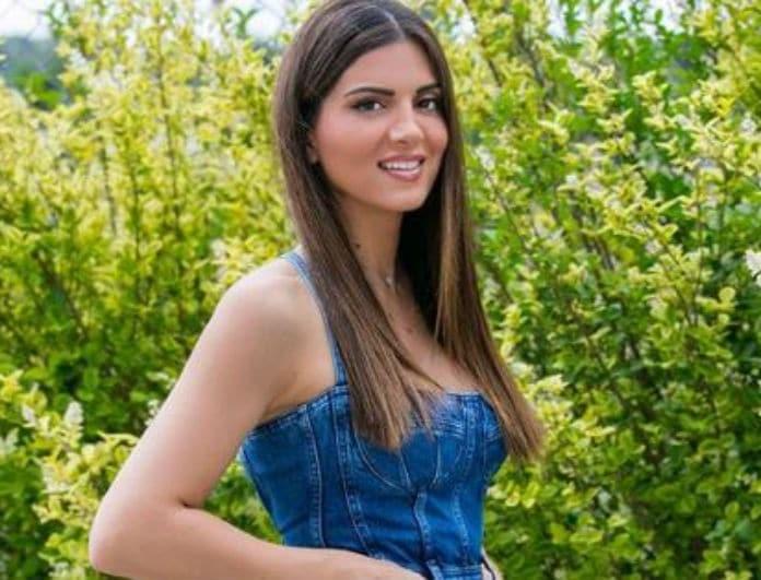 Σταματίνα Τσιμτσιλή: Το midi jean φόρεμα που λατρέψαμε!