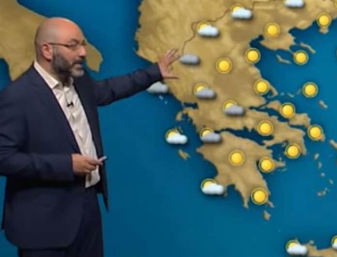 Ο Σάκης Αρναούτογλου προειδοποιεί: Επιδείνωση του καιρού το Σαββατοκύριακο!