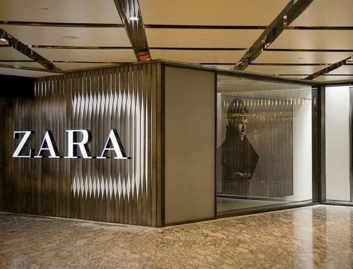 Zara: Αυτή η ολόσωμη φόρμα με τα ανάγλυφα πουά και την διαφάνεια θα σε μαγέψει!