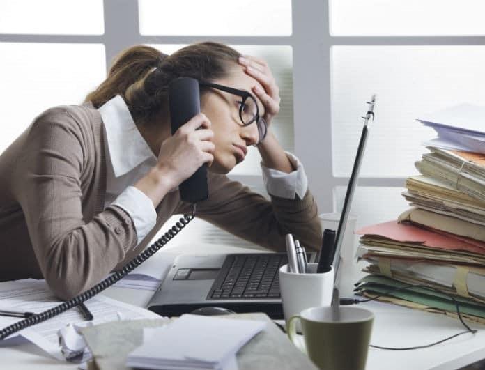 4 +1 τρόποι να ελαττώσετε το στρες στην δουλειά!