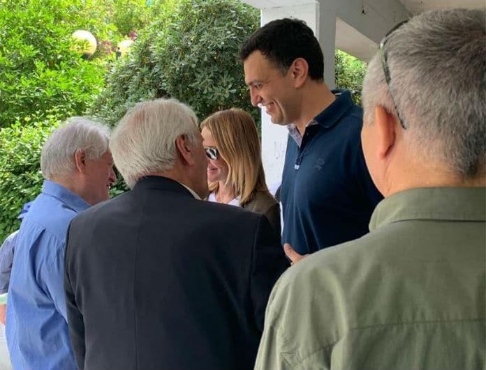 Τζένη Μπαλατσινού: Στο πλευρό του Κικίλια στις εκλογές 2019! Οι φωτογραφίες όλο καμάρι!