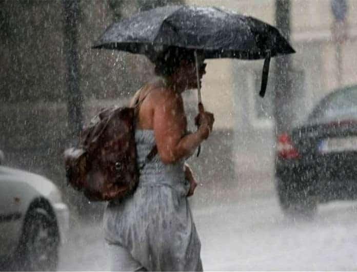 Έκτακτο δελτίο καιρού: Προειδοποιεί η ΕΜΥ! Έρχονται καταιγίδες και χαλάζι!