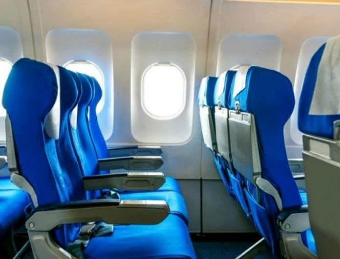 καθίσματα αεροπλάνων