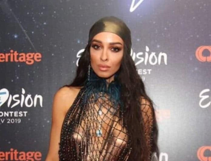 Eurovision 2019: Κόβει την ανάσα λίγο πριν βγει στη σκηνή! (Βίντεο)
