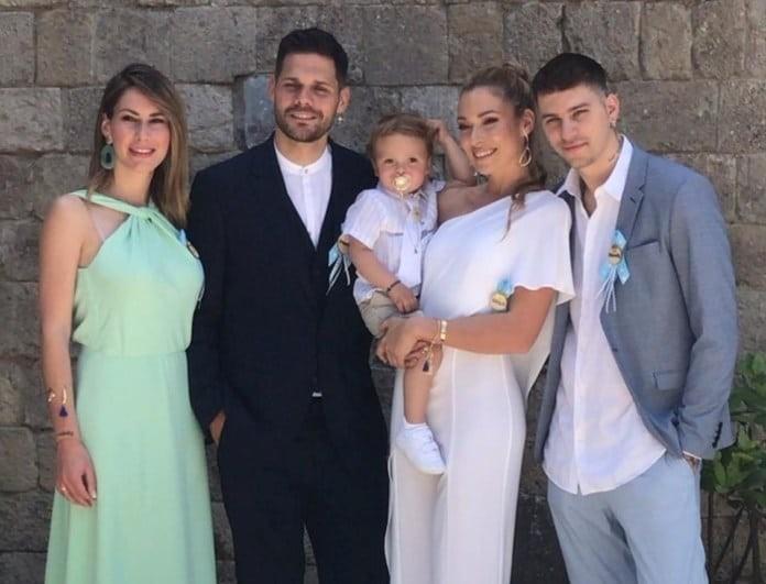 Μικαέλα Φωτιάδη - Γιάννης Μπορμπόκης: Βάφτισαν το αγοράκι τους! Δείτε τις φωτογραφίες!