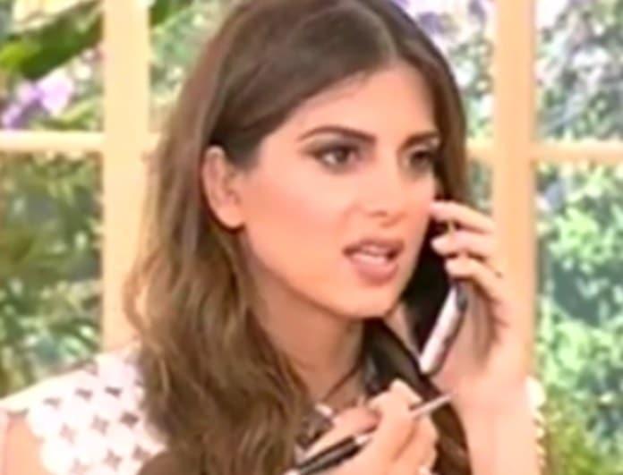 Σταματίνα Τσιμτσιλή: Ποιος την κάλεσε στο τηλέφωνο ενώ ήταν στον «αέρα»; «Δεν ξέρει ότι κάνουμε εκπομπή;» (Βίντεο)