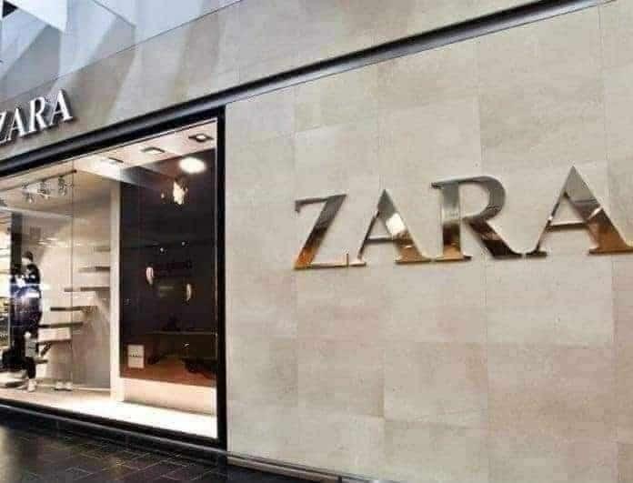 Zara: Πέδιλο με λουριά από γκλίτερ; Δώσε υπερλάμψη στην εμφάνισή σου τώρα!