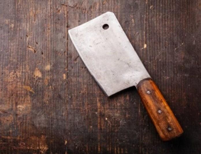 Καλαμάτα: 39χρονη χτύπησε με μπαλτά τον σύζυγό της στο κεφάλι!