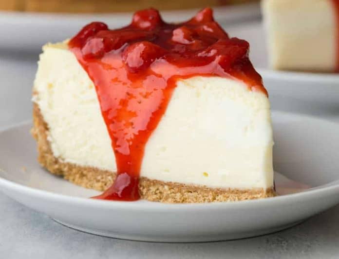 Γρήγορο και πεντανόστιμο cheesecake από την Σταματίνα Τσιμτσιλή!