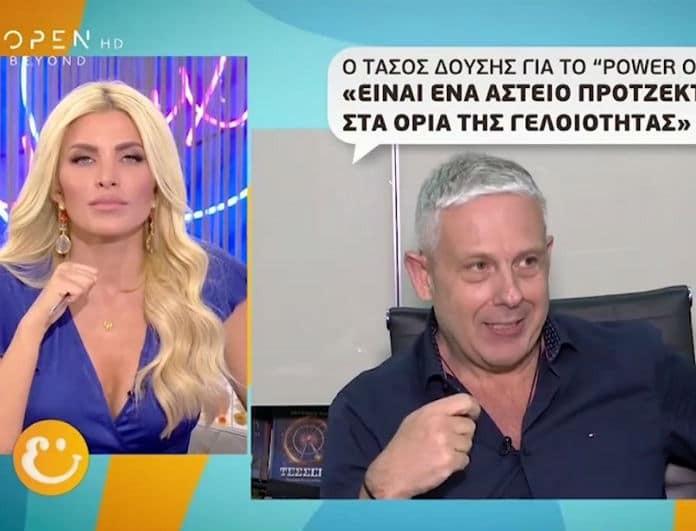 Tάσος Δούσης: Η πρώτη συνέντευξη για τις «Εικόνες»! Επιστρέφουν στο Open tv!