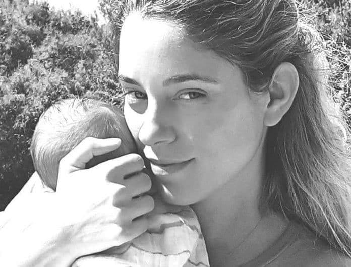 Δούκισσα Νομικού: Η φωτογραφία με τον γιο της, χωρίς pixel στο πρόσωπό του!