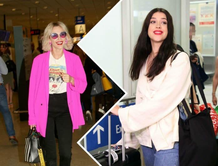 Κατερίνα Ντούσκα/ Τάμτα: Οι εμφανίσεις στο αεροδρόμιο και το... φουντάκι που έγραψε ιστορία!