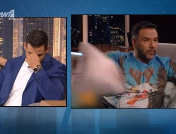 Ετεοκλής Παύλου: Η αντίδρασή του όταν έμαθε ότι ο Αρναούτογλου έχει ξαπλώσει μαζί με την Χατζίδου! (Βίντεο)