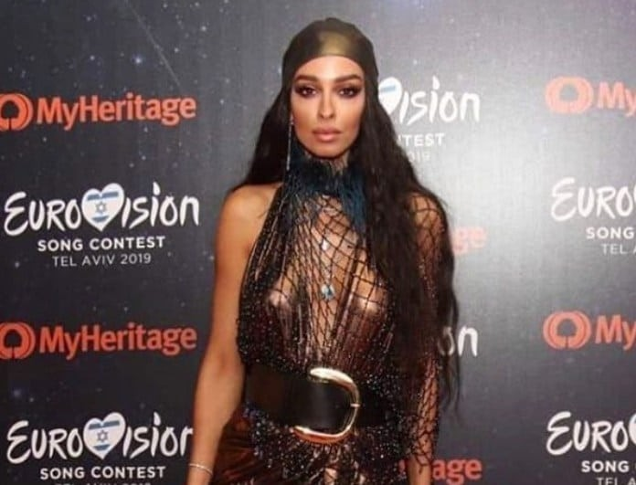 Eλένη Φουρέιρα: Τρέλανε την Eurovision στην τελετή έναρξης με σούπερ σ3ξι φόρεμα!