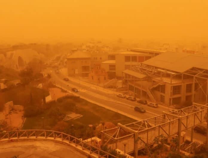 Έκτακτο δελτίο καιρού: Θα πνιγεί στην σκόνη η χώρα - Πότε υποχωρούν τα φαινόμενα!