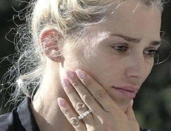 Βικτώρια Καρύδα: Με λιβανιστήρια και πλεγμένα μαλλιά μετά τον θάνατο του συζύγου της!
