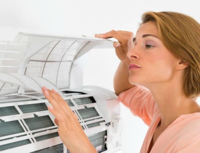 Καθαρίστε το κλιματιστικό σας εύκολα, γρήγορα και οικονομικά!