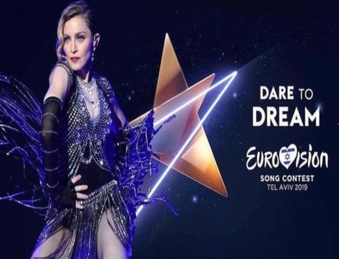 Eurovision 2019: Αποκαλυπτικά πλάνα από την πρόβα της Μαντόνα! Έτσι θα εμφανιστεί! (Βίντεο)