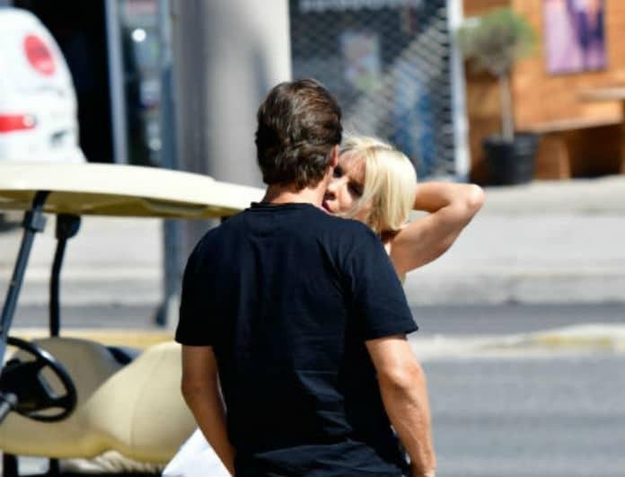 Ελένη Μενεγάκη: Τα καυτά - ερωτικά χάδια με τον Ματέο! Δεν ήξεραν πως υπάρχουν παπαράτσι!