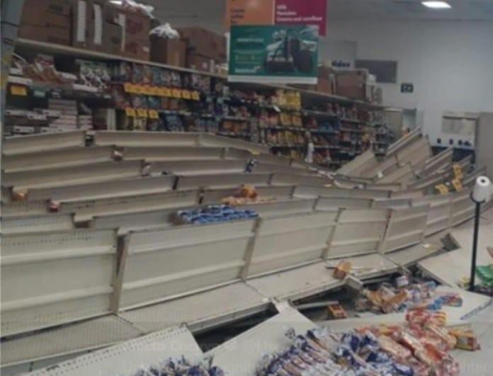Βίντεο που σοκάρουν από τον σεισμό των 6,1 Ρίχτερ! Απίστευτες καταστροφές!