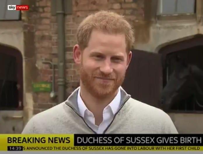 Πρίγκιπας Χάρι: Οι πρώτες του δηλώσεις του ευτυχισμένου μπαμπά! (Βίντεο)