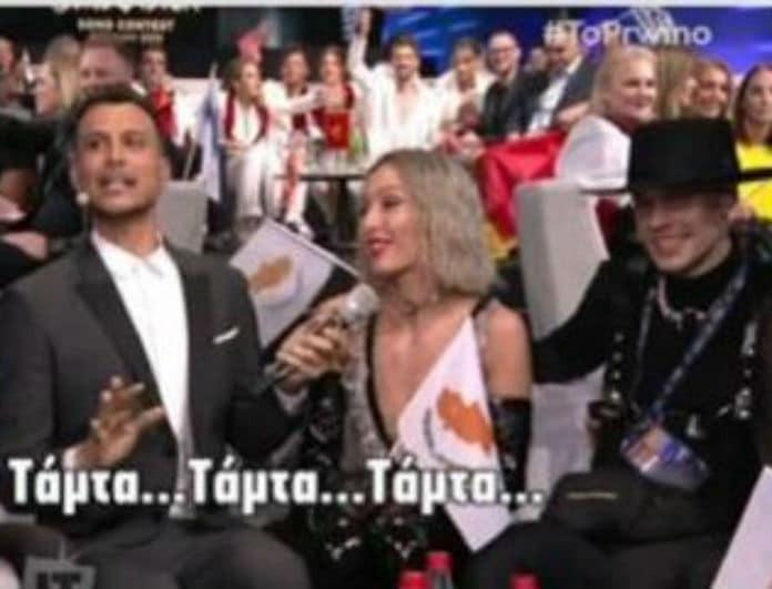 Eurovision: Η ερώτηση στην Τάμτα για την Φουρέιρα που την έφερε σε δύσκολη θέση!