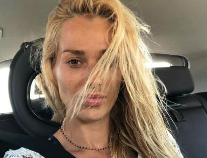 Βικτώρια Καρύδα: Διέρρευσαν καυτές φωτογραφίες της! Πόζαρε όλο νάζι μετά το θάνατο του συζύγου της!
