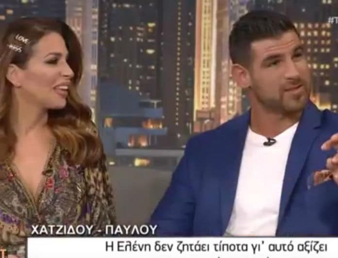 Χατζίδου-Παύλου: Αυτό είναι το όνομα της κόρης τους! Η αποκάλυψη στον Αρναούτογλου... (Βίντεο)