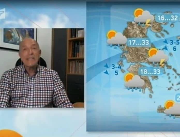 O Τάσος Αρνιακός προειδοποιεί: «Η θερμοκρασία θα αγγίξει τους 40 βαθμούς»!