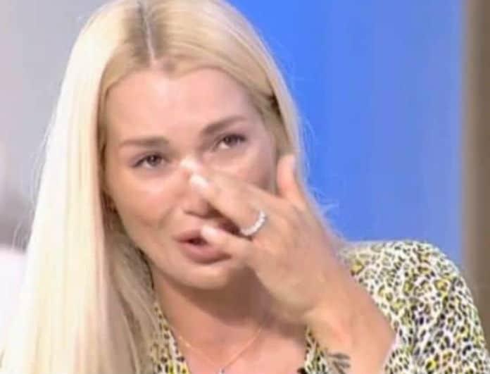 Βικτώρια Καρύδα: Καταρρακωμένη! Η πάθηση που της «χτύπησε» την πόρτα!