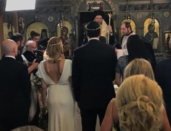 Γάμος Μπαλατσινού - Κικίλια: Νέες εικόνες μέσα από την εκκλησία!