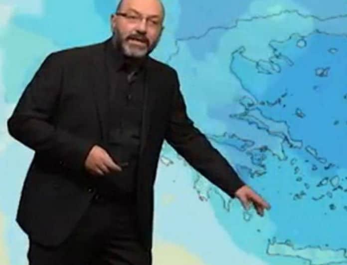 Ο Σάκης Αρναούτογλου προειδοποιεί: Έρχονται βροχές και καταιγίδες!