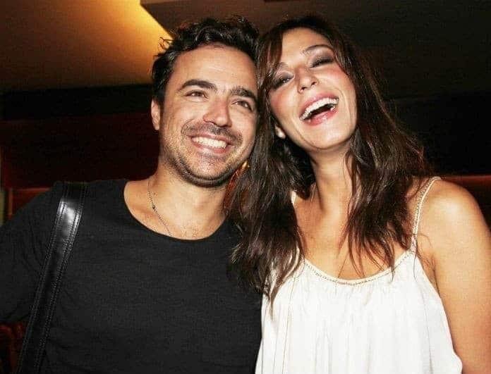 Κατερίνα Παπουτσάκη: Αυτή είναι πιο τρυφερή φωτογραφία με τον σύζυγό της!