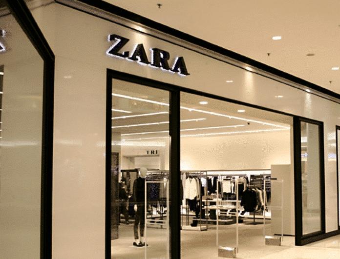 Zara: Αυτό είναι το καλοκαιρινό φόρεμα με το πιο παιχνιδιάρικο χρώμα που κοντεύει να ξεπουλήσει!