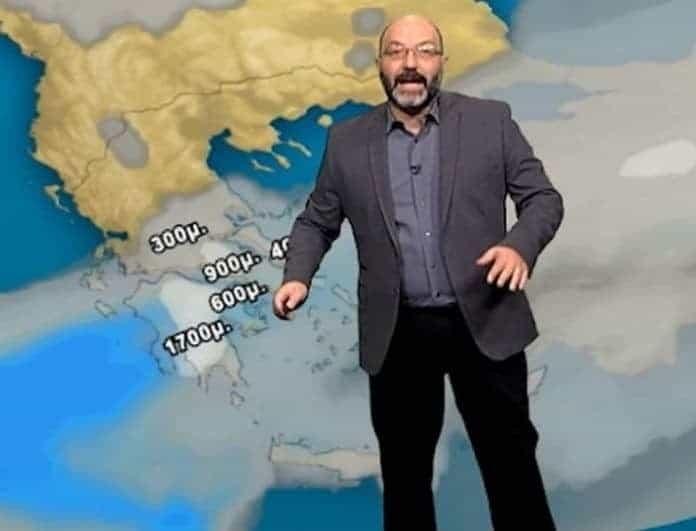 Έκτακτο δελτίο καιρού από τον Σάκη Αρναούτογλου! Έρχονται μπόρες και καταιγίδες!