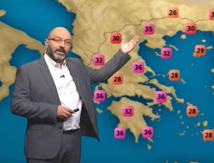 Σάκης Αρναούτογλου: Προειδοποιεί ο μετεωρολόγος! Έρχεται επιδείνωση του καιρού! (Βίντεο)