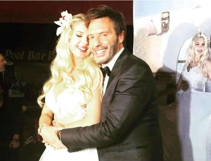 Σοφία Μαριόλα - Στράτος Τζώρτζογλου: Αδημοσίευτες φωτογραφίες από το γάμο τους!