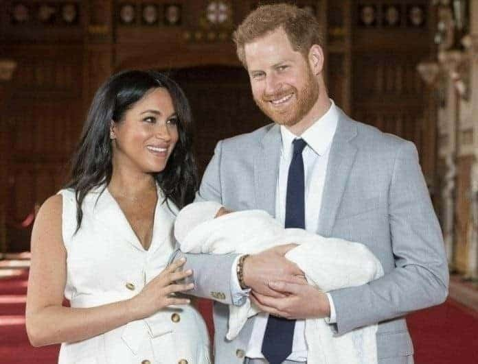 Mέγκαν Μαρκλ - Πρίγκιπας Χάρι: Είδαμε για πρώτη φορά το πρόσωπο του μωρού!