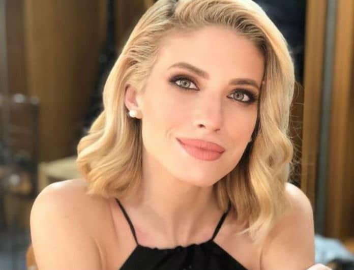 Ευαγγελία Αραβανή: Η ευτυχία της