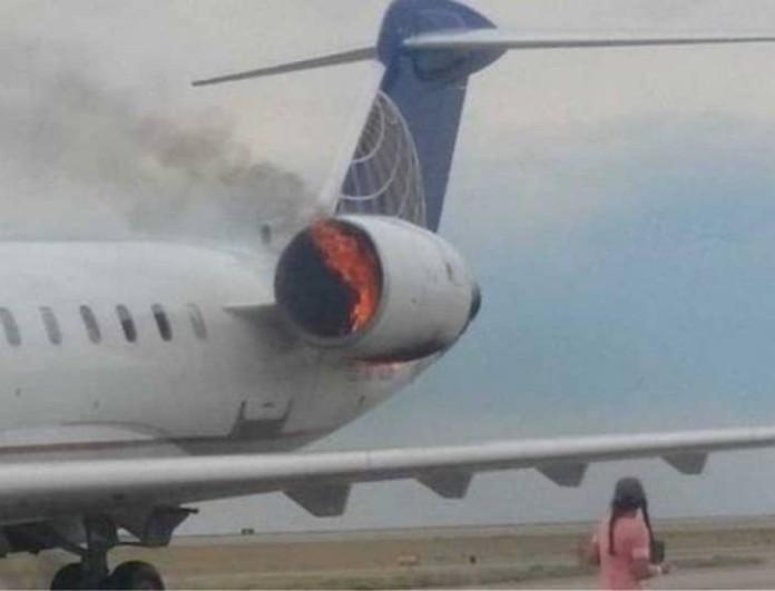 Θρίλερ στο αεροδρόμιο του Ηρακλείου: Φωτιά σε κινητήρα αεροπλάνου!