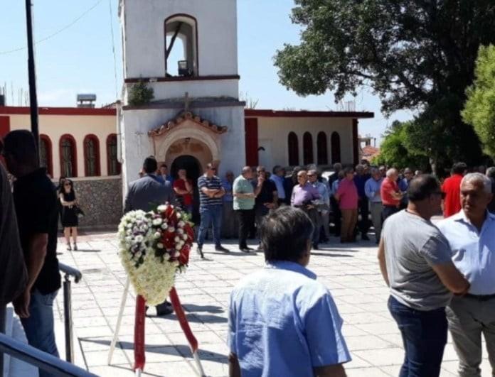 Δολοφονία Γραικού: Οδύνη και σπαραγμός στην κηδεία του!