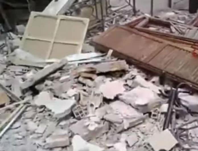 Έκρηξη σε τριώροφο κτίριο! Εκκενώθηκε η περιοχή!