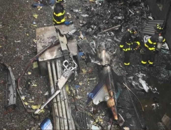 Σοκ: Συνετρίβη ελικόπτερο μέσα στην πόλη! Δύο νεκροί!