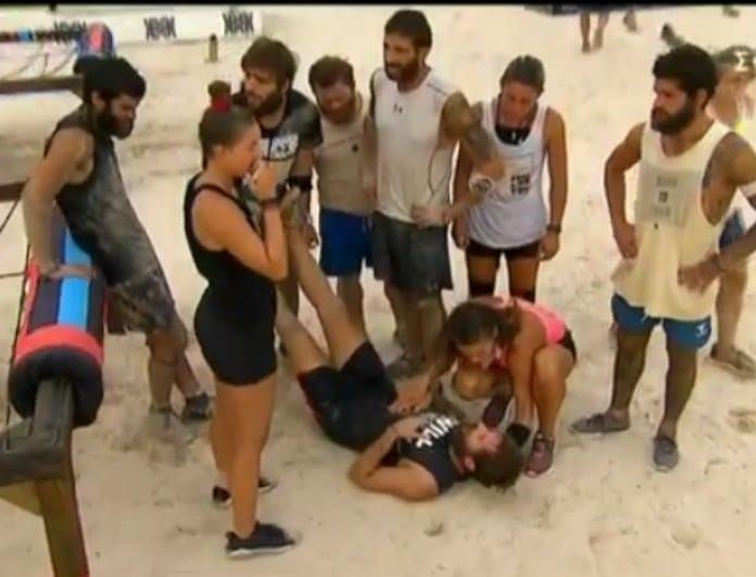 Survivor: Κατέρρευσε ο Παναγιώτης! (Βίντεο)