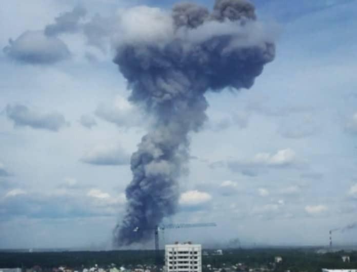 Ισχυρή έκρηξη σε εργοστάσιο! Δεκάδες τραυματίες! (Βίντεο)