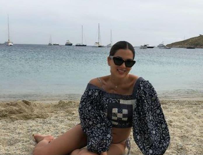 Σταματίνα Τσιμτσιλή: Στην παραλία με τον άντρα της ζωής της!