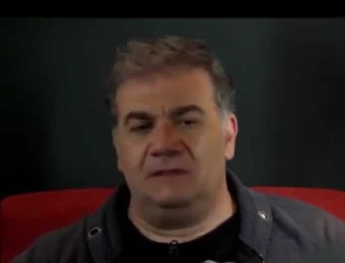 Δημήτρης Σταρόβας: Περνάει δύσκολες ώρες! Η σύντροφός του τον βρίζει καθημερινά! (Βίντεο)