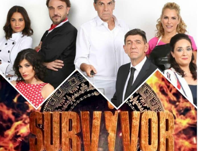 Τηλεθέαση prime time: Ο Μπέζος «τηγάνισε» το Survivor! Πόσες μονάδες το άφησε πίσω η Φριτέζα;