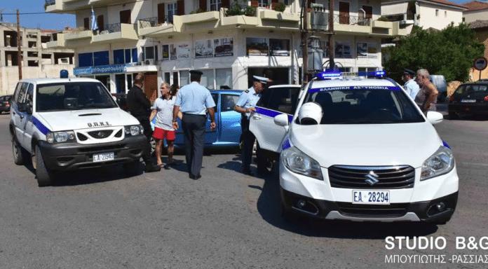 Ναύπλιο: Τροχαίο με περιπολικό και τραυματίες!